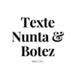 Texte Nunta si botez
