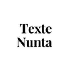 TEXTE NUNTA