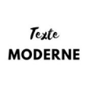 Texte Moderne (0)